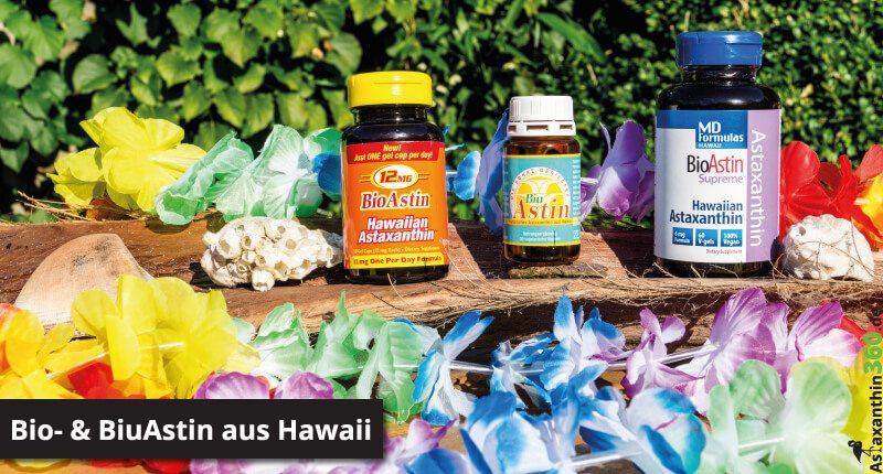 Bioastin bzw. Biuastin aus Hawai genau vorgestellt.