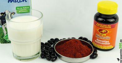 Milch, bzw. das Kasein, macht Probleme mit Antioxidantien.